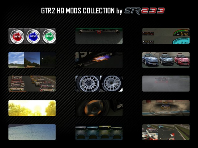 GTR2 HQ MODS COLLECTION