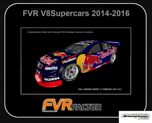 Screenshot for [rF2] FVR V8 Supercars 2014 by FVR Factor