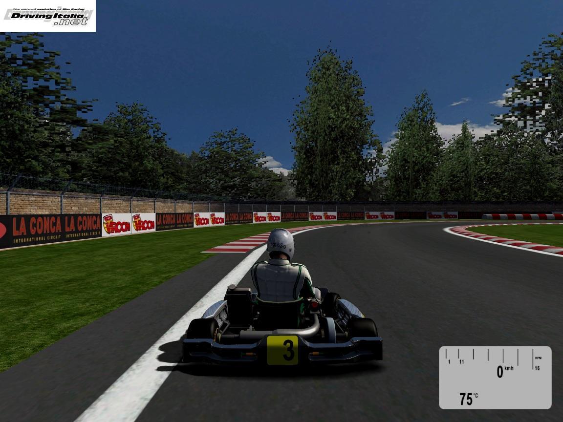 La Conca per Kart Racing Pro