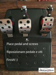 FFB pedal PRO montaggio 5