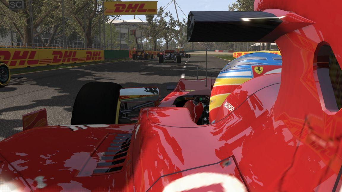 F1 2011 - Alonso Melbourne partenza