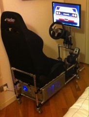 Rickysael Home made race simulator 03