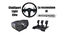 Fanatec ClubSport Light Elite - La recensione di DrivingItalia.net