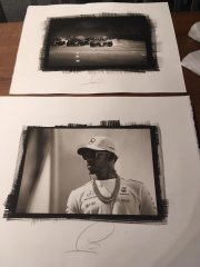 Platinum Palladium Print Hand Made Fine Art.Made in Italy - Client: Lewis Hamilton