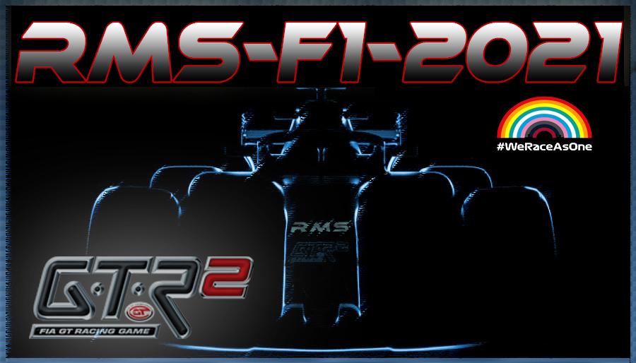 [GTR2] RMS-F1-2021 V1.0 UP