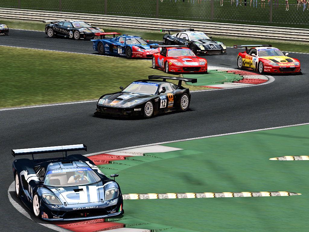 GT Italiano Monza Start