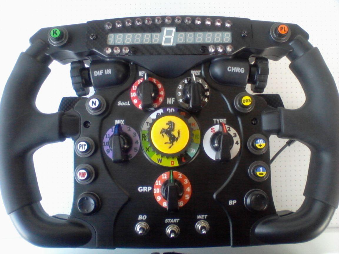 volante thrustmaster mod.
