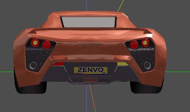 zenvo rear