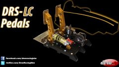 DRS-LC Pedals - 2 pedali
