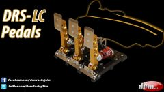 DRS-LC Pedals - 3 pedali