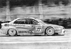 Honda Accord BTCC Tom Kristensen drawing