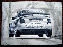 Audi A4 STW drawing