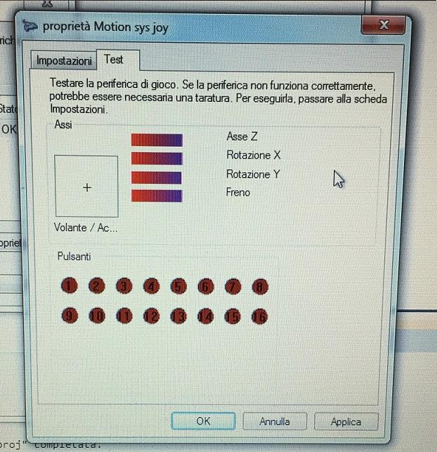 controller pedals feedback