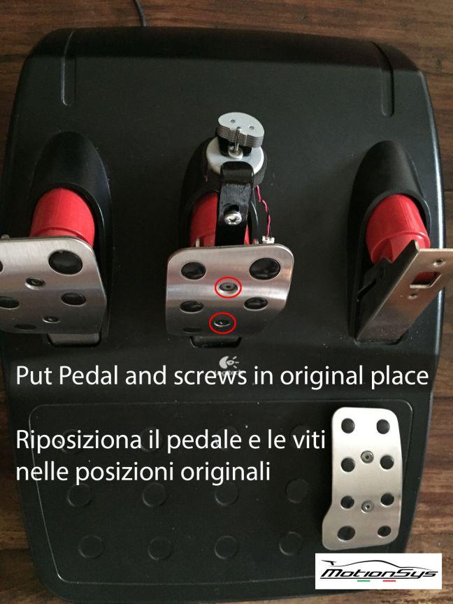 FFB pedal PRO montaggio 3