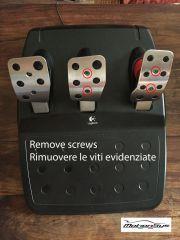 FFB pedal PRO montaggio 1