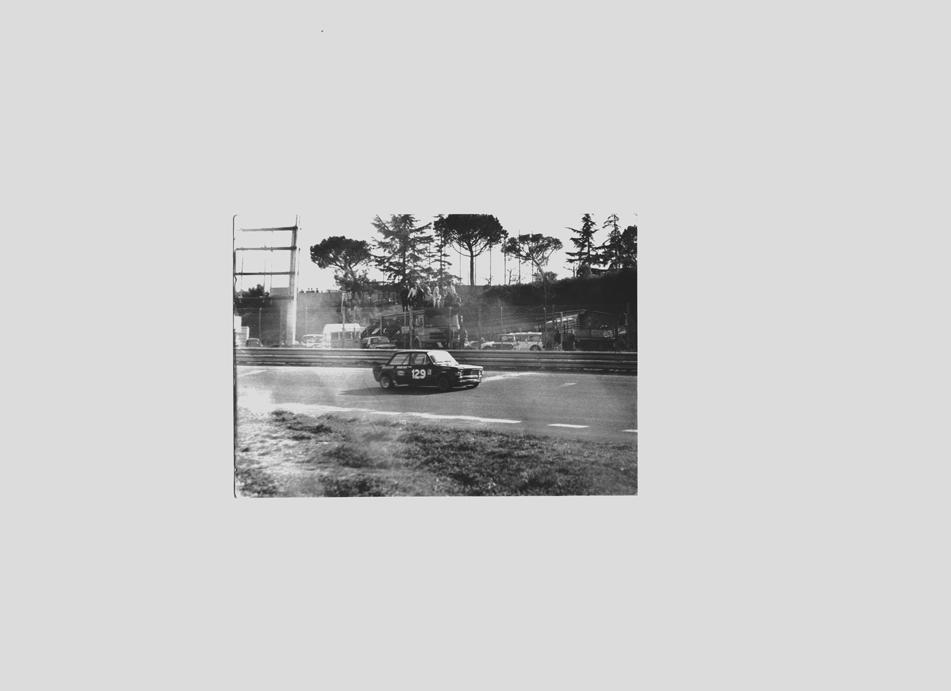 fiat 128 preparazione Vaccari - Driver: Enzo Santucci - Vallelunga, Campionato Italiano G.2 cl.1150  - 1973