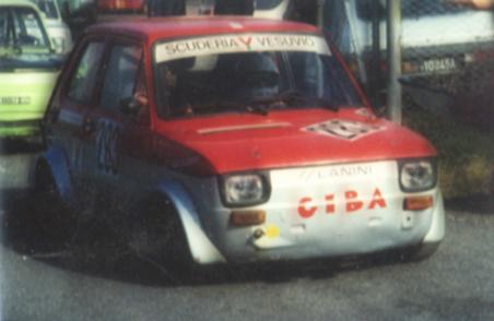 Driver: Rosario De Fazio - Fiat 126 preparazione LANINI