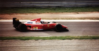 Ferrari F.1 - Driver: Nicola Larini