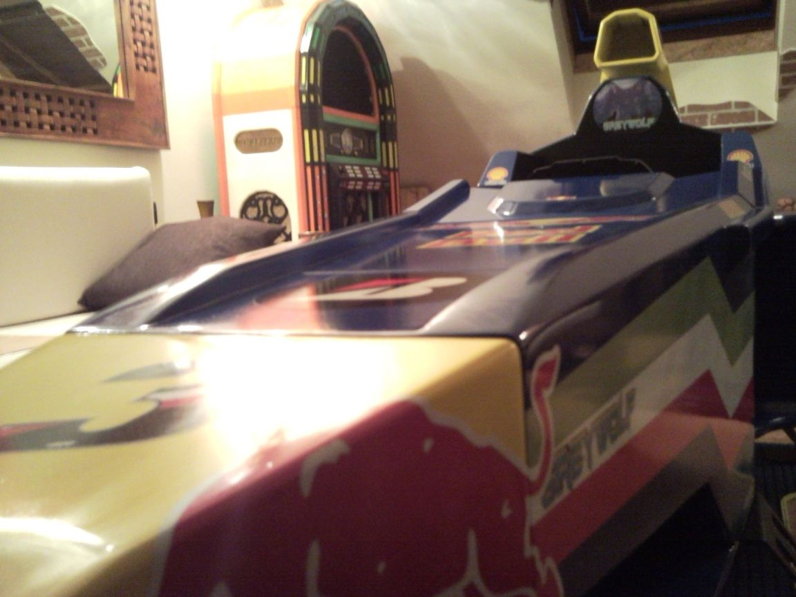 F1 COckpit by Greywolf
