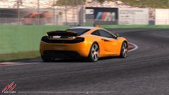 Vallelunga e la McLaren MP4 12C