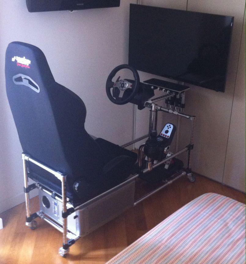Rickysael Home made race simulator 01