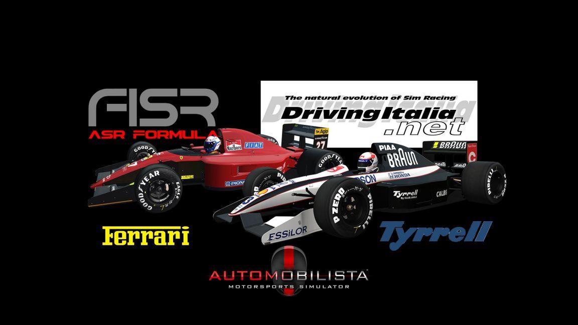 Tyrrell 020 & Ferrari 643 by ASR Formula