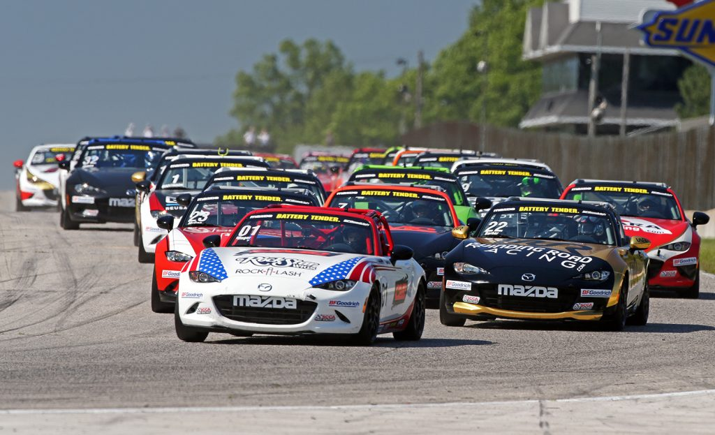 Campionato Mazda MX5 Cup: Gara 1 IMOLA - 15/02