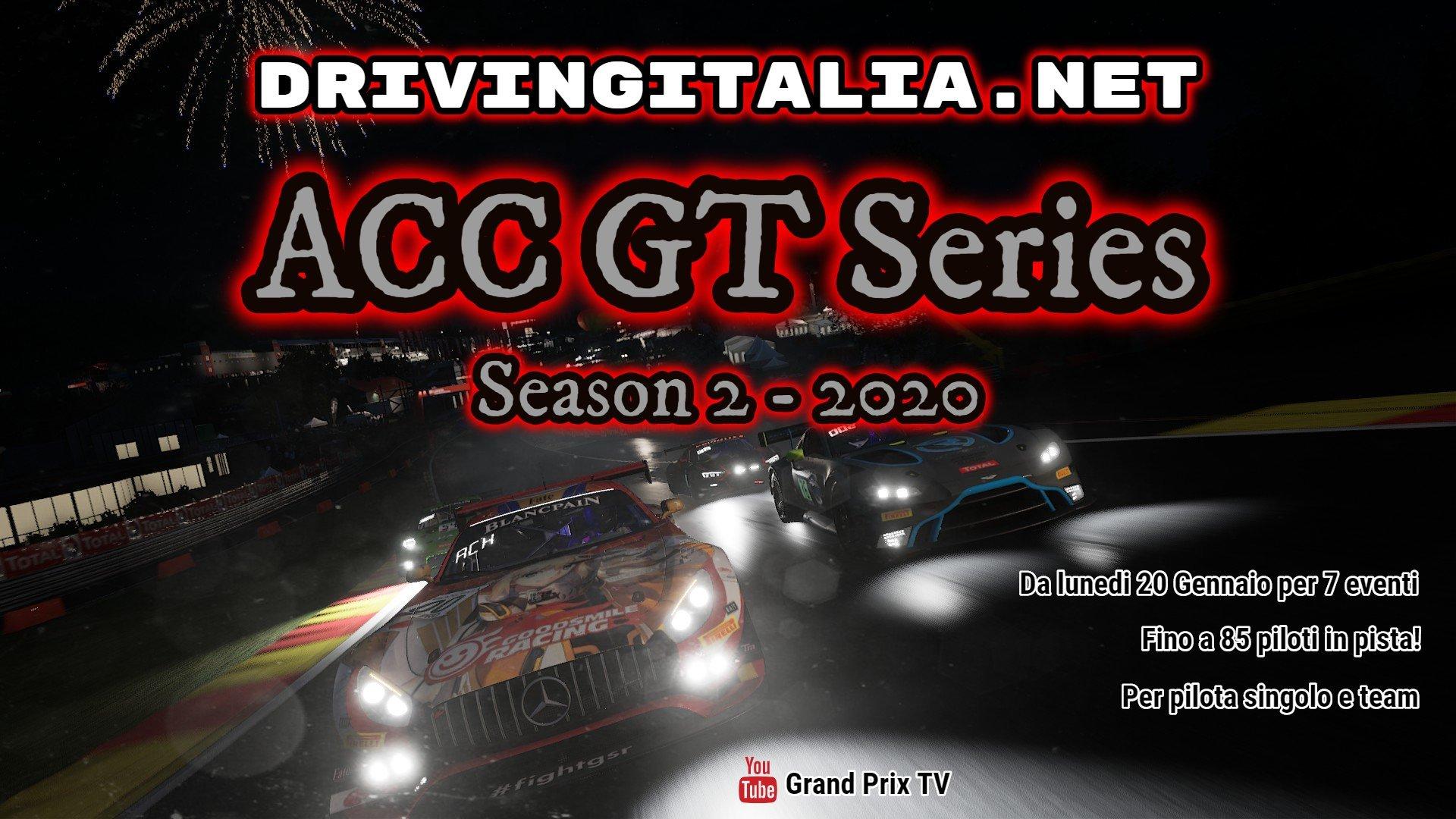 GT Series Season 2 AC Competizione