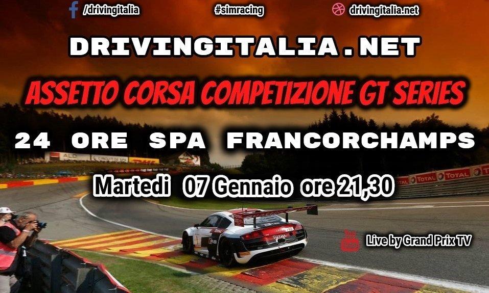 Assetto Corsa Competizione 24 Ore SPA