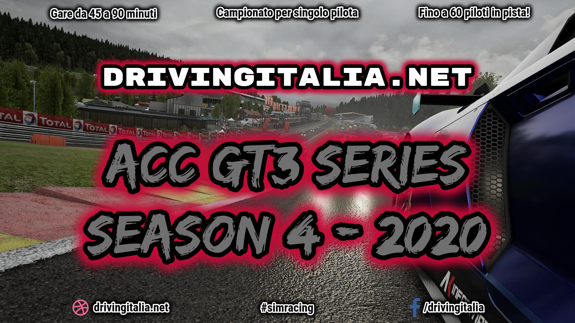 GT3 Series Season 4 AC Competizione