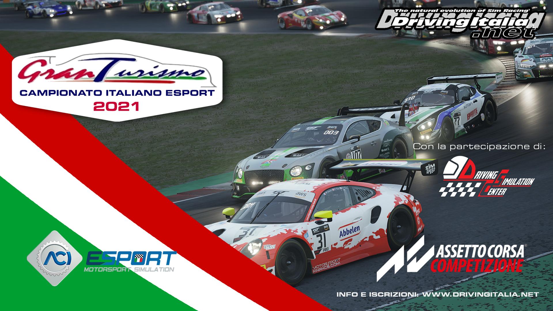 Campionato Italiano Gran Turismo ACI ESport 2021