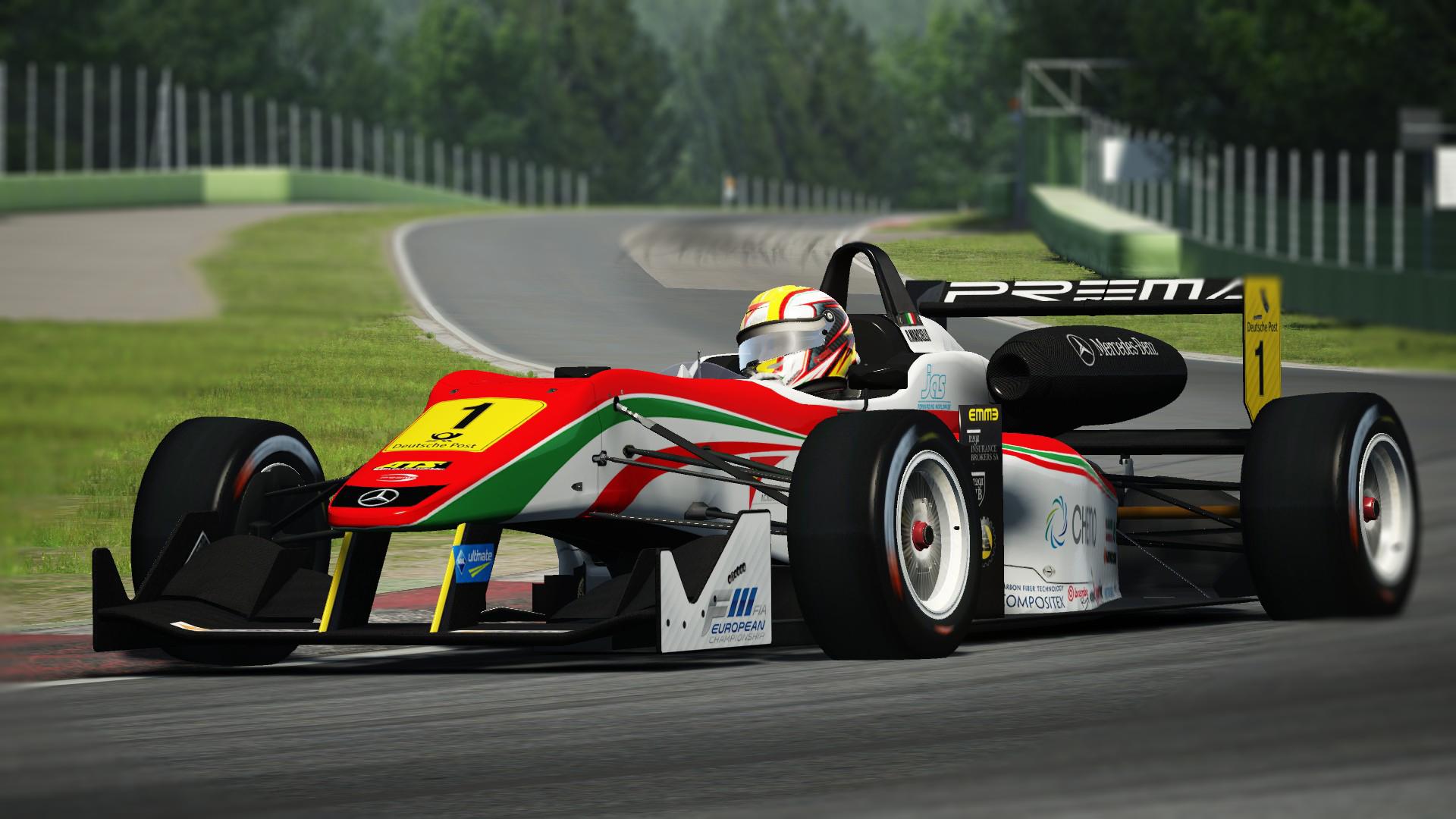 Formula 3 Cup Assetto Corsa